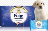 Test gratis Page toiletproducten en win cheque twv  €450