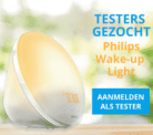 Test gratis Philips Wake-up Light (testen=houden)