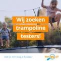 Test een gratis trampoline t.w.v. € 289
