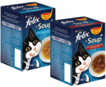 Gratis sample Felix Soup (vis of kip)