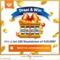Draai & Win tot 100 Staatsloten of €10.000 netto | Altijd prijs!