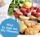 Win een High Tea t.w.v. € 50 én 1 van de 20 theesets