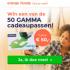 Gratis kans op 1 van de 50 GAMMA cadeaupassen t.w.v. €50