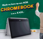 Gratis kans op een Acer Chromebook t.w.v. €429