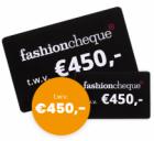 Gratis kans op een Fashioncheque t.w.v. €450!