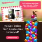 Tel de eieren en win een gratis Philips Keukenmachine