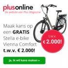 Kans op gratis Stella e-bike bij aanmelding nieuwsbrief