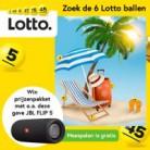 Zoek en win tot 45 gratis loten, een JBL Flip 5 Speaker of cadeaubonnen!
