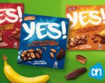 Gratis 3-pack Yes! noten- en fruitrepen