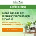 Win waardebonnen tot € 250 (3x kans) + € 5 shoptegoed