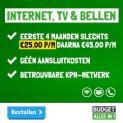 Internet, tv & bellen voor maar € 25 per maand!