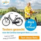 Testers gezocht voor de Cortina fiets (testen=houden!)