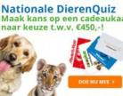Kans op een gratis cadeaukaart naar keuze t.w.v. € 450