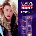 Test Elvive Color-Vive Purple Shampoo