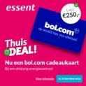 Gratis Bol.com cadeaubon t.w.v. € 250 bij Essent