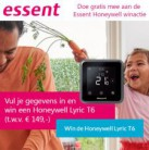 Maak kans op een slimme Honeywell thermostaat twv € 149 (10 winnaars!)