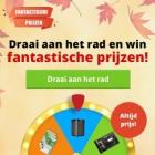 Maak kans op fantastische prijzen & gratis Bladen cadeaukaart