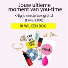 Gratis goodiebox met fashion- en beautyspullen t.w.v. minimaal € 100!