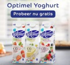 Gratis Optimel Yoghurt