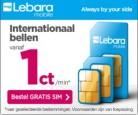 Gratis Lebara simkaart
