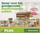 Gratis boodschappenpakket t.w.v. € 50 én gratis bezorging