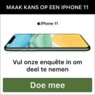 Winnaars gezocht voor de iPhone 11!