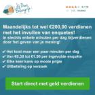 Verdien € 200 per maand met 10 minuten per dag!