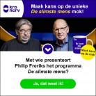 Win een unieke mok van De Slimste Mens