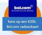 Kans op gratis Bol.com bon van €200 + besparing tot €495