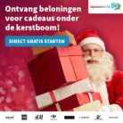 Kerstactie Opinieland: verdien gratis cadeaus