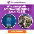 Win een hotelovernachting t.w.v. € 158