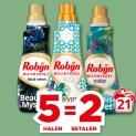 3x Gratis Robijn wasmiddel en wasverzachter met Plus waardebonnen