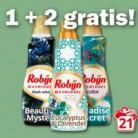 2 x Gratis Robijn wasmiddel met online bon (€ 17,98 korting!)