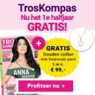 Gratis gouden collier t.w.v. € 99 én een halfjaar gratis TrosKompas