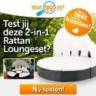 Test een 2-in-1 Rattan Loungeset